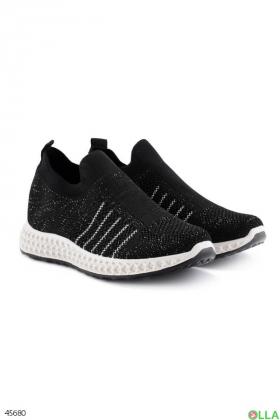 Женские черные кроссовки  - 00-00189277