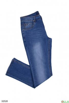 Мужские светло-синие джинсы