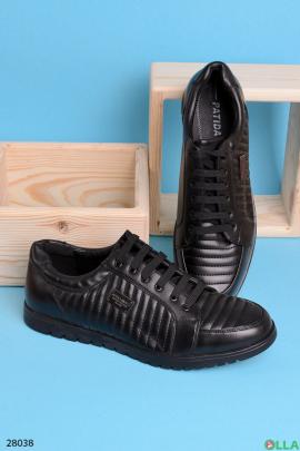 Кроссовки со стеганным верхом
