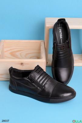 Мужские кроссовки с молниями