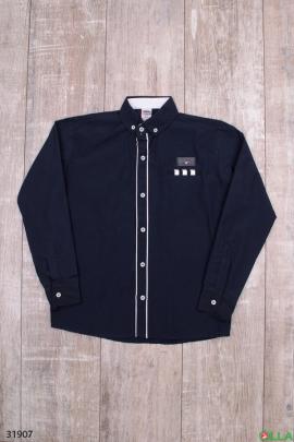 Рубашка чёрного цвета