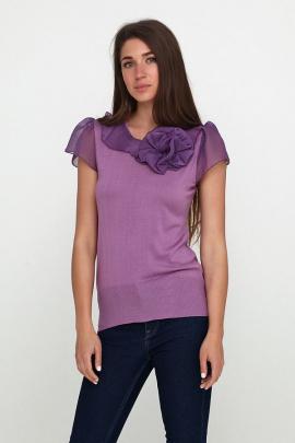 Женская фиолетовая блузка