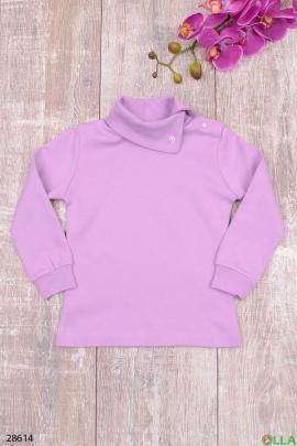 Гольф фиолетового цвета