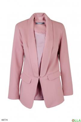 Женский Розовый пиджак