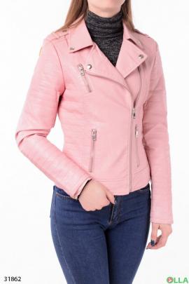 Куртка розового цвета