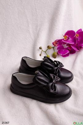 Туфли с ушками и бантом
