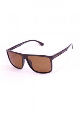 Мужские очки с коричневыми стеклами