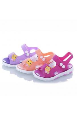 Босоножки силиконовые для девочки Фиолетовый