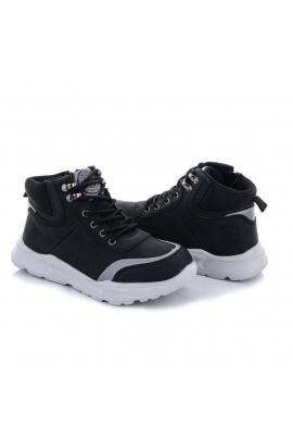 Ботинки демисезонные для мальчика Черный