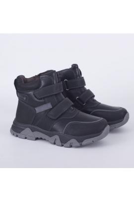 Зимние ботинки для мальчика Черный