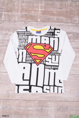 Кофта с логотипом Superman