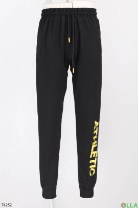 Мужские спортивные брюки с надписью