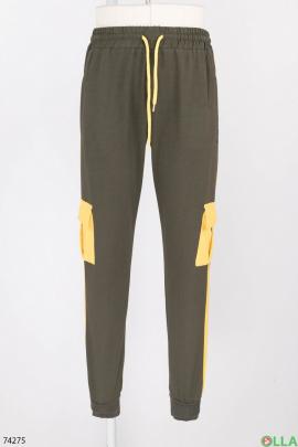 Мужские спортивные брюки с лампасами