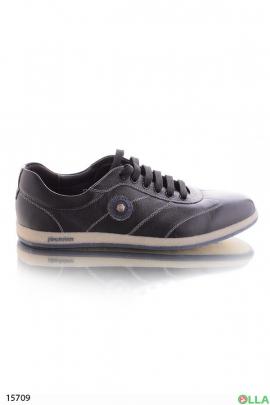 Туфли на шнуровке в спортивном стиле