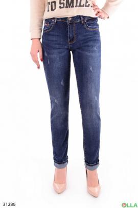 Повседневные женские джинсы