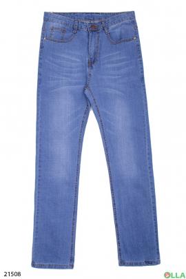 Мужские джинсы в повседневном стиле