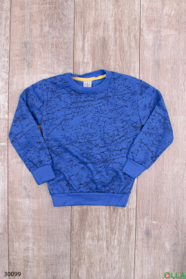 Синий свитшот для мальчика