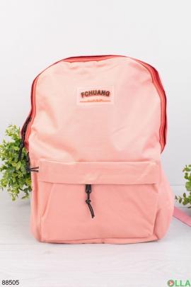 Мужской розовый рюкзак