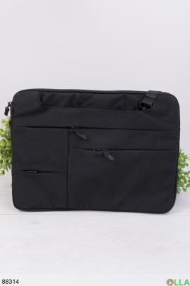 """Черная сумка для ноутбука 15.6"""""""