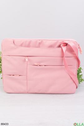 "Розовая сумка для ноутбука 15.6"""