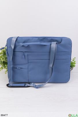 "Синяя сумка для ноутбука 15.6"""