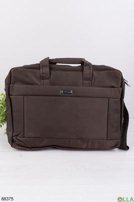"""Коричневая сумка для ноутбука 15.6"""""""