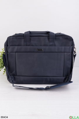 """Темно-синяя сумка для ноутбука 15.6"""""""