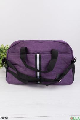 Фиолетовая спортивная сумка