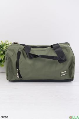 Спортивная сумка цвета хаки