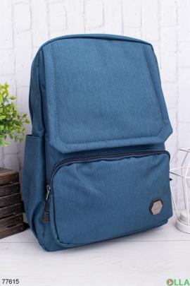Мужской однотонный рюкзак