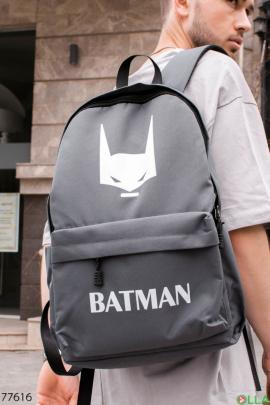 Мужской рюкзак с принтом