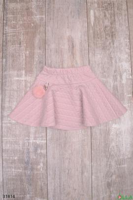 Юбка розового цвета