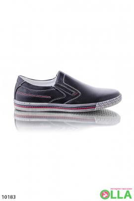 Туфли на резиновой подошве