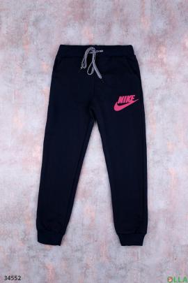 Спортивные штаны с надписью