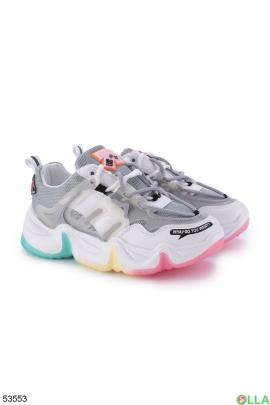 Женские разноцветные кроссовки
