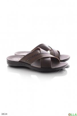Мужские коричневые кроссовки