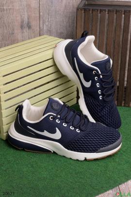Мужские кроссовки синего цвета