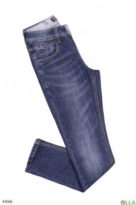 Мужские повседневные джинсы