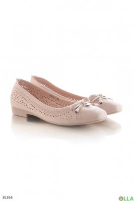 Туфли с перфорированным верхом