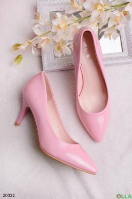 Женские лаковые туфли-лодочки