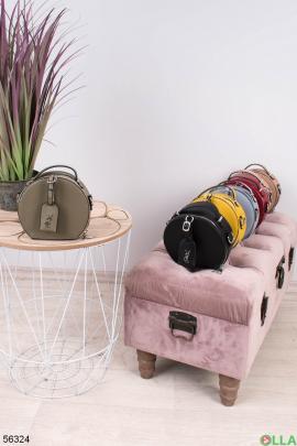 Женская сумка цвета хаки