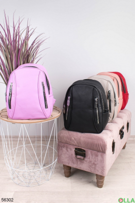 Женский Лиловый рюкзак