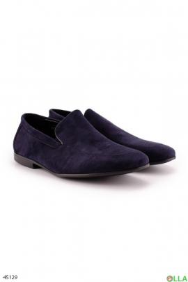 Классические синие туфли