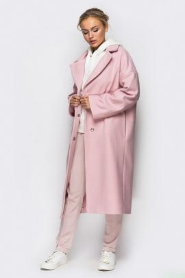 Объемное пальто в стиле oversize