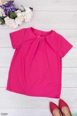 Женская малиновая блузка