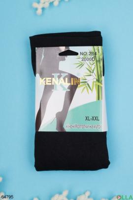 Женские черные колготы 2000 DEN 2000Den