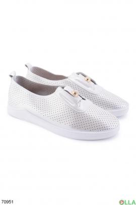 Женские серебристые туфли