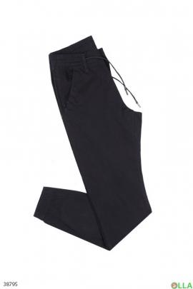 Мужские брюки с манжетами