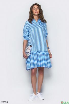 Женское платье в стиле oversiz