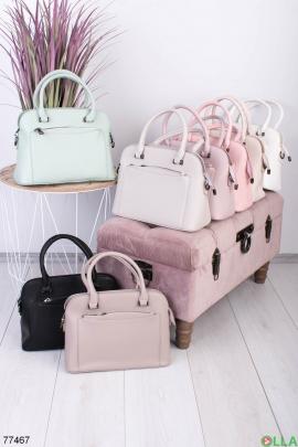 Женская бирюзовая сумка